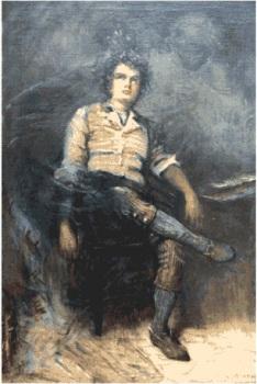 Robert Burns Painting