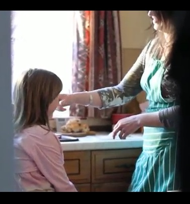 Still from LadyBird Mum and Daughter