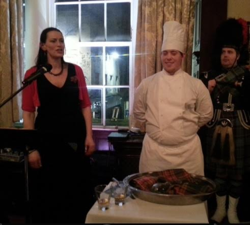 Keara at Young Professionals Burns Supper