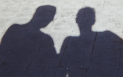 Keara & Paul Sillhouette