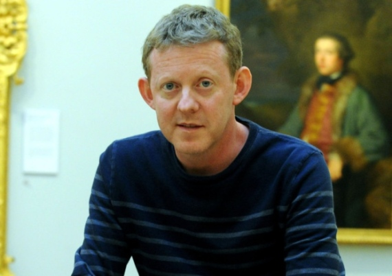 Colin McCredie in the Art Gallery