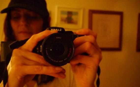 BlueEyedLassie Keara with Camera Cover Shot
