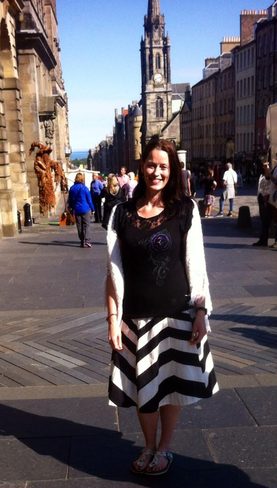 Keara at Edinburgh Royal Mile