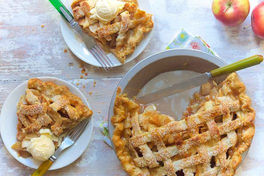 Apple Pie in Grannie's Kitchen