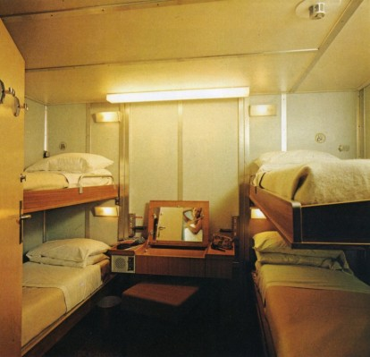 Boat Cabins in the 70s