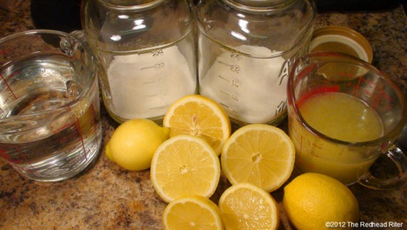 Homemade Lemonade