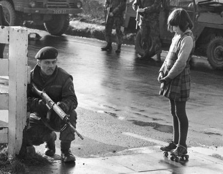 Soldiers and Roller Skates