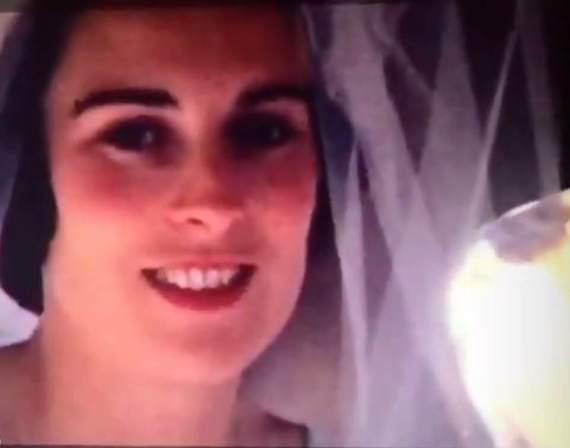 Mammy in her Wedding Car