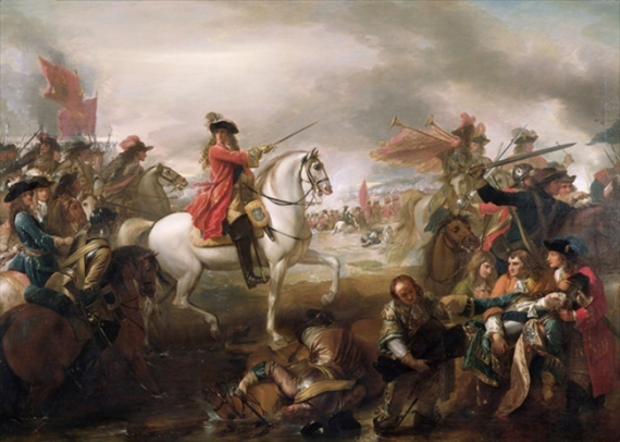 painting-of-william-at-the-battle-of-the-boyne